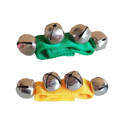 Baby Sensory Wrist Ankle Rattle Jingle Bells Musical Educational Toys Gift UK