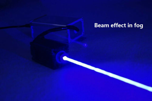 Real 1W/1000mW Focusable 445nm Blue Laser Moudle/Blue Laser Beam/12V/TTL and PSU
