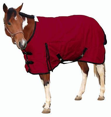 """Analytisch Royal Hamilton Turnout Horse Blanket Waterproof Burgundy With Black Trim Xl 84"""""""