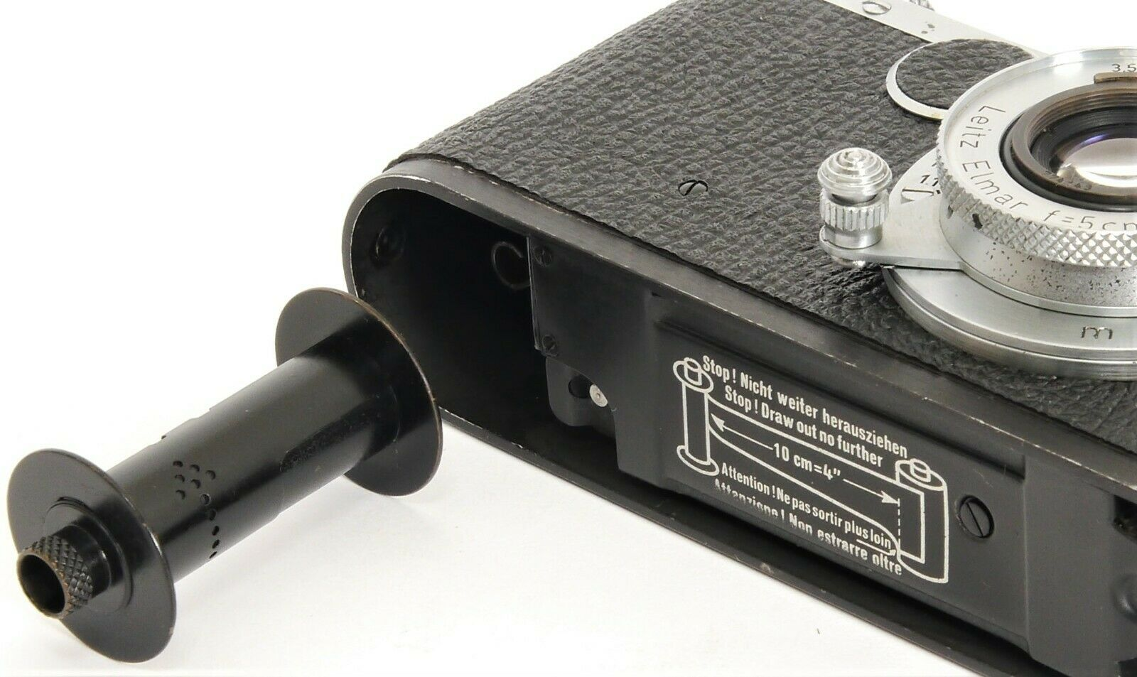 LEICA Take-Up Spool early Type for LTM Mount Cameras as LEICA IIF 3b 3g LEICA 3d