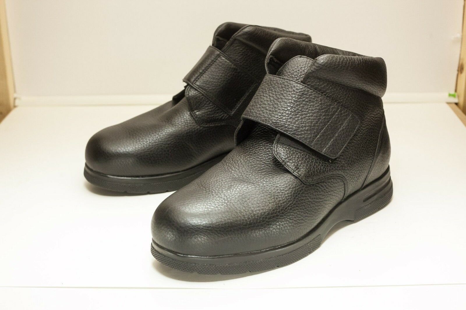 Drew Big Easy US 11.5 6E Ancho Negro botas al tobillo para Hombre