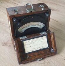 Vintage Antique 1920 Weston Dc Voltmeter Model 45 Rare Test Equipment Steampunk