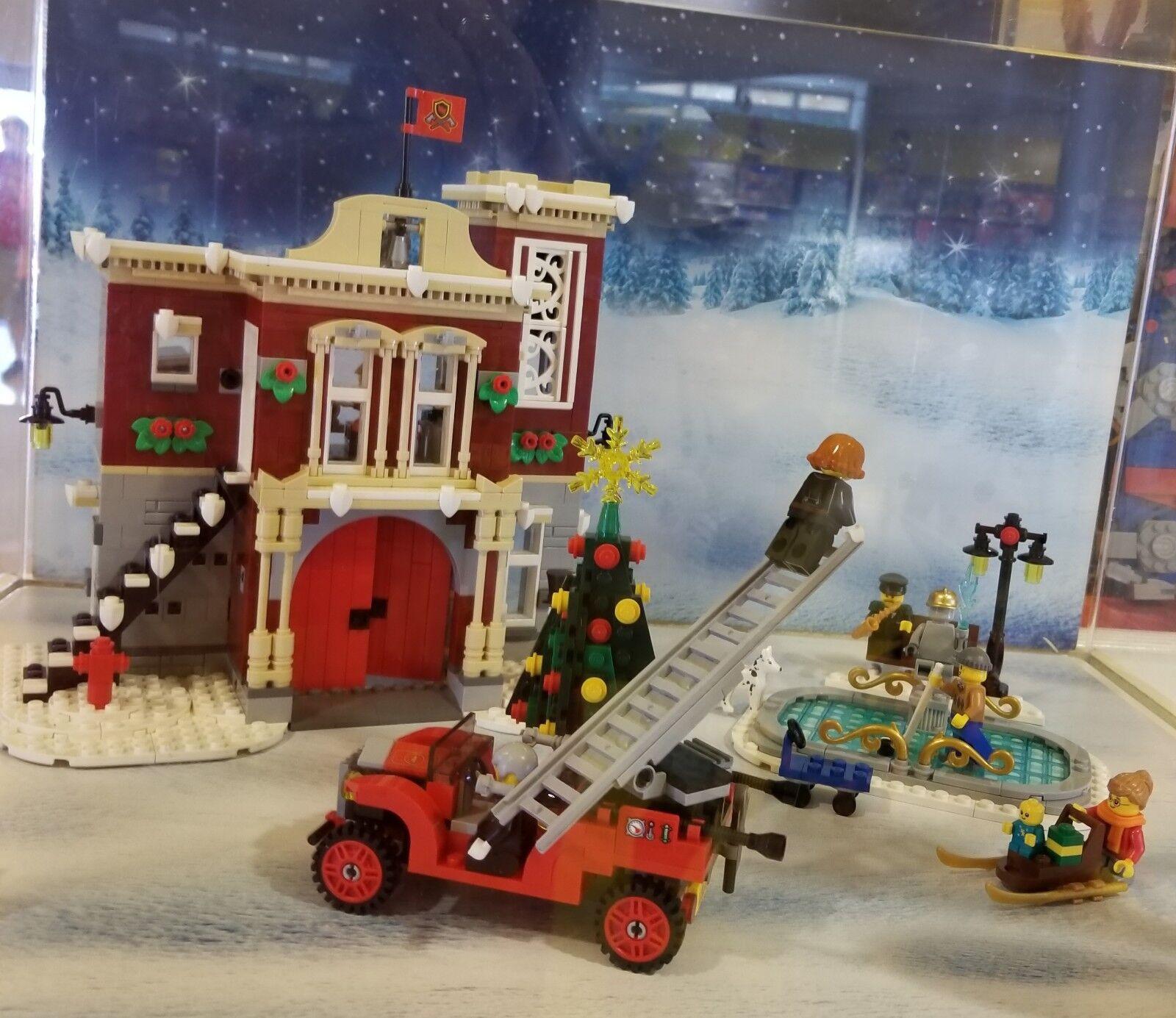 LEGO WINTER VILLAGE FIRE STATION 10263 CREATOR EXPERT