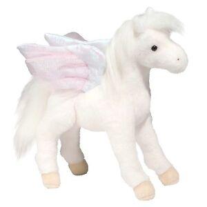 """Douglas Jewel PEGASUS 12"""" Plush Stuffed Animal Winged Horse Pony Cuddle Toy NEW"""