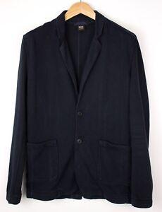 HUGO BOSS Herren Wolt Freizeit Blazer Jacke Mantel Größe L AVZ1176