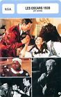 FICHE CINEMA USA LES OSCARS 1939 (12-e année) Autant en emporte le vent