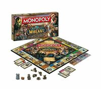 Monopoly World Of Warcraft Collectors Edition Wow Ce Family Board Game Toys