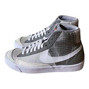 Details about Nike Blazer Mid '77 'Patch - Smoke Grey' White DD1162 001 - Men's Size 7.5
