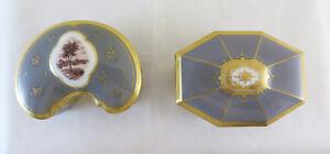 Antiques Decorative Arts Bing Grondhal Denmark Two Boxes Collectibles Porcelain R124