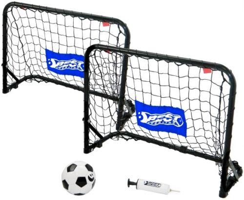 Ball // Pumpe Fußballtor Set inkl 4-teilig Best Sporting 11089 Mini Goaly-Set