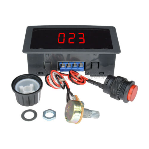 Motor DC 6-30V 12V 24V Max 8A Speed PWM Controller With Display /& Switch Digital