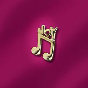 Lapel-Pin-Badge-Music-Note-JOY-Choir-Worship-Band-Musician-FREE-P-amp-P-Qty-Discount