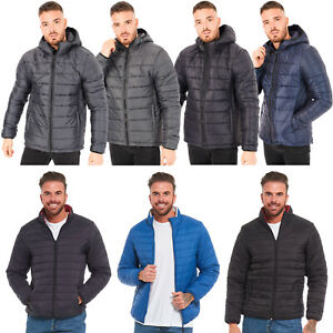 MENS-QUILTED-PADDED-BUBBLE-PUFFER-JACKET-WARM-PLAIN-LINED-CASUAL-DOWN-PARKA-COAT