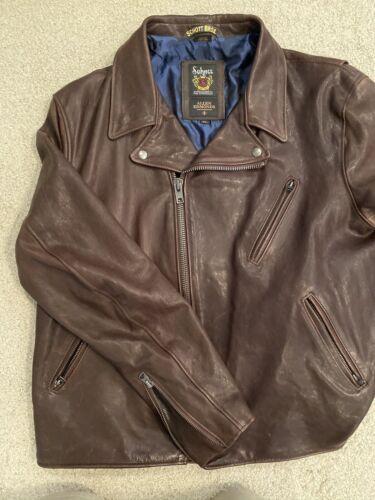 Schotts leather Moto Jacket for Allen Edmond. Size