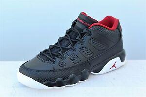 91c87ba3b0c75b 833447-001 Jordan Big Kids Air Jordan 9 Retro Low GS black