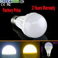 New E27 3-25W LED Bulb Light Lamp Energy Saving 85V-260V White/Warm Light