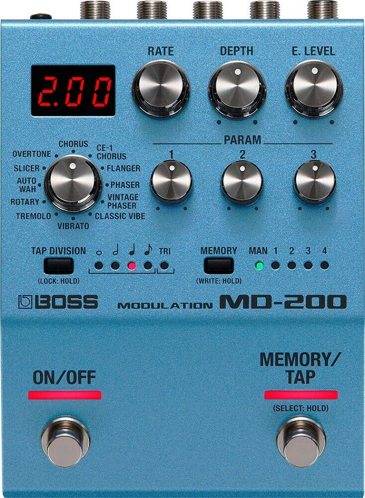 MD-200 Modulation Pedal: Pedal