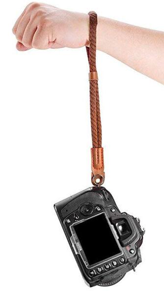 Actif Hand Strap Grip Neck Wrist Belt Camera Nikon D7100 D600 D800 D800e D4 D7000 D300