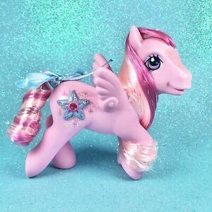 ❤️My Little Pony G3 Jewel Sparkle Princess Hidden Treasure Pegasus Pink Tinsel❤️