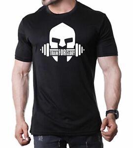Abbigliamento da Allenamento per Maglietta da Palestra da Uomo GYMTIER Leg Day Maglietta Bodybuilding
