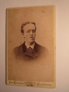 Edm-W-Berghoff-als-Architektur-Student-1891-CDV-Carl-Michelmann-Hannover