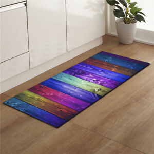 Colorful-Dining-Room-Carpet-Shaggy-Soft-Area-Rug-Bedroom-Rectangle-Floor-Mat-NEW