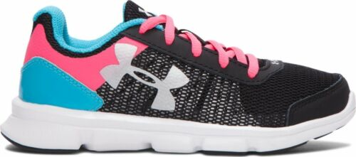 Under Armour MicroG® Swift Running Shoes UK13.5 Blk//aqu//pink 1266306 REDUCED
