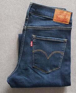 Damen-Jeans-LEVIS-LEVI-S-314-Shaping-Straight-19631-0048-City-Slicker-W27-L32