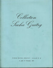CATALOGUE COLLECTION SACHA GUITRY 1974 BEETHOVEN BERLIOZ BIZET GLUCK NAPOLEON...