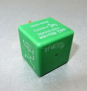 15-Rover-200-45-25-75-MG-ZR-ZS-ZT-5-Pin-Multi-Use-Green-Relay-YWB000450-4190072