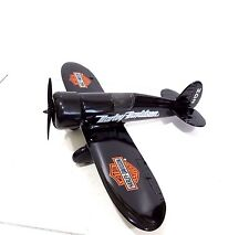 "1929 Diecast Harley Davidson Travel Air Model ""R"" Airplane Bank, New in Box"