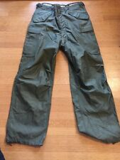 Vintage Korean War Shell Field Trousers M 1951 Men's Medium Long