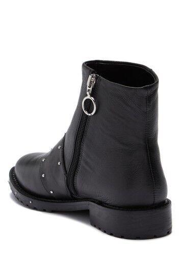 Avec Les Les Les Filles Graham Studded Black Ankle Booties Size 10 fb454f