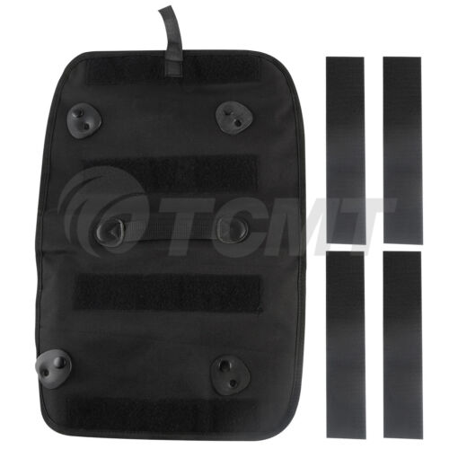 Tour Pak Pack Lid Organizer Pouch Black Saddle bags For Harley Touring 1999-2013