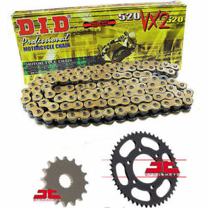 Honda CB500 F//FA-D,E,F,G,H 2013-2017 DID GOLD VX2 Heavy Duty X-Ring Chain