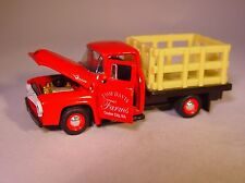 M2 '56 FORD F-100 STAKE TRUCK COULEE CITY, WA TOM DAVIS FARMS TRUCK COLLECTIBLE!