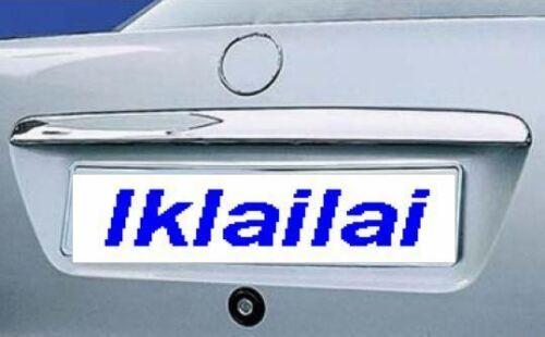 Chrome Rear Trunk lid molding fits 1998-2002 Mercedes Benz W208 CLK EU type