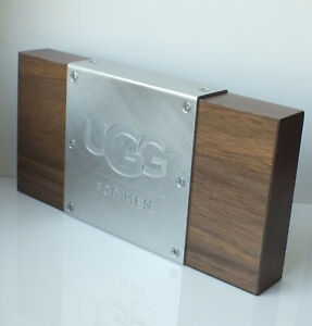 UGG-Display-Deko-Aufsteller-Staender-Schild-Werbung-Rare-112US