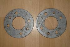 2 x Fiat Barchetta Distanzscheiben spacer disk disc anello di spallamento 5mm