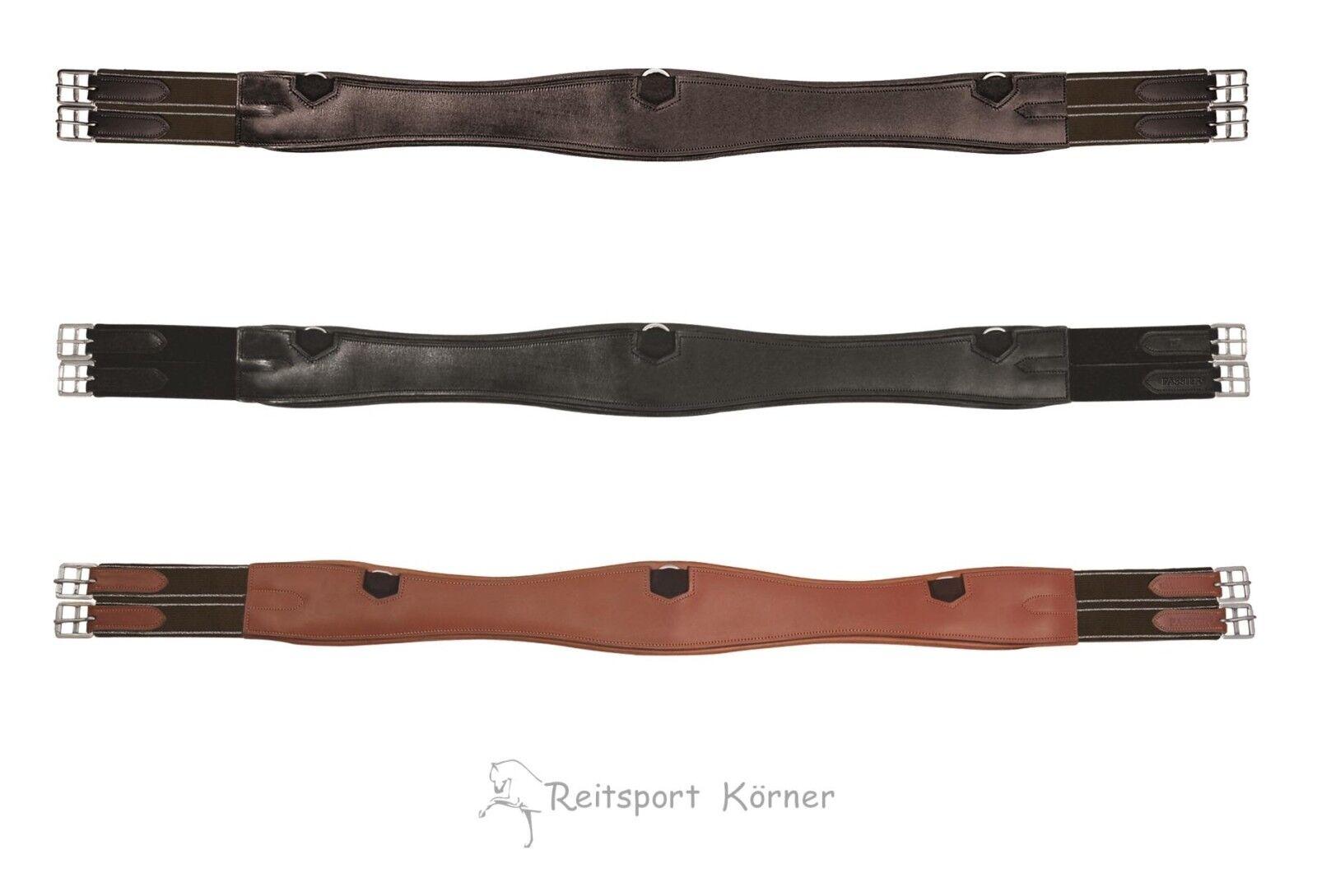 Passeier Lederwarengurt, schweißt, lange Form mit elastischen Enden