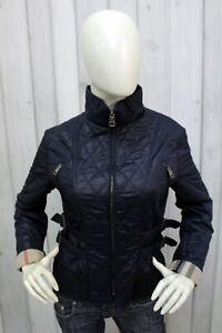 BURBERRY-LONDON-Donna-Taglia-L-Giubbotto-Blu-Giubbino-Jacket-Coat-Giacca-Woman