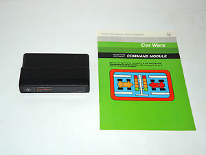 CAR-WARS-cartridge-amp-manual-TI-99-4A-Texas-Instruments-game