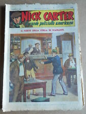 Nick Carter Il Grande poliziotto americano Anni 40 n°52 ed. NERBINI  [G369]
