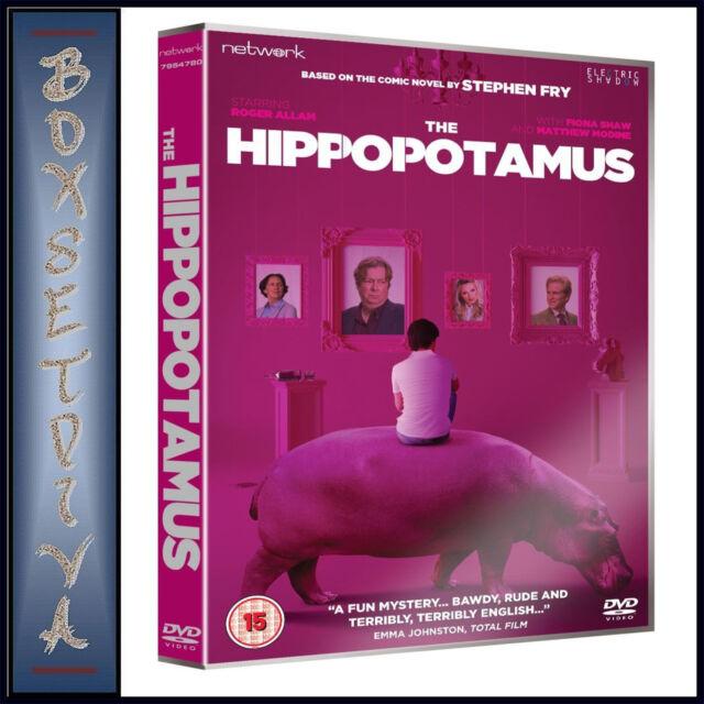 THE HIPPOPOTAMUS -  Roger Allam & Fiona Shaw  *BRAND NEW DVD **