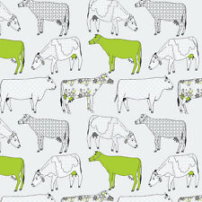 Etonnant Essener Tapete Kitchen Style 3 KK29928 Cow Cows White Green Vinyl Wallpaper