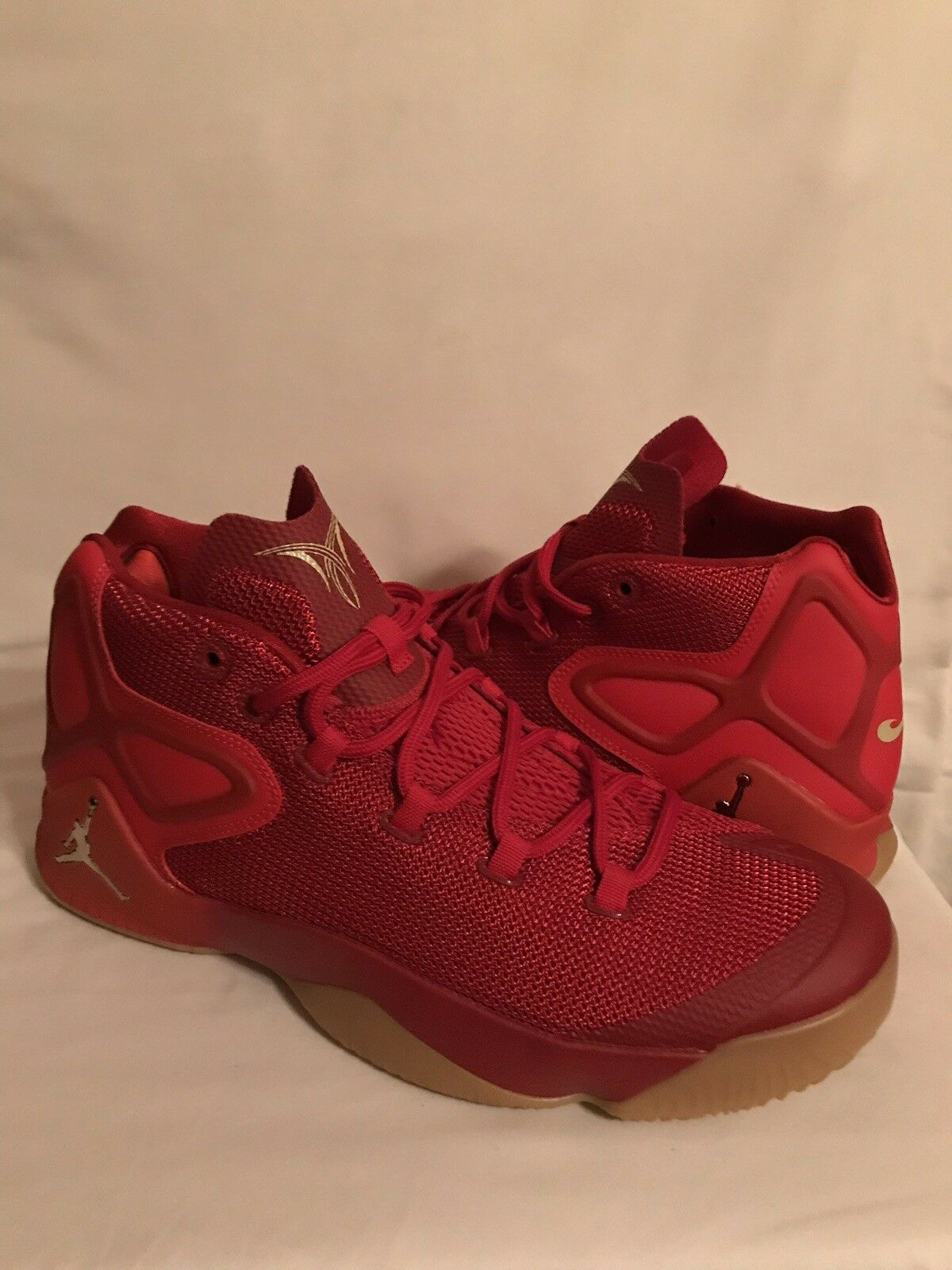 Nike air jordan basketball - schuhe mens fitness melo m12 rot