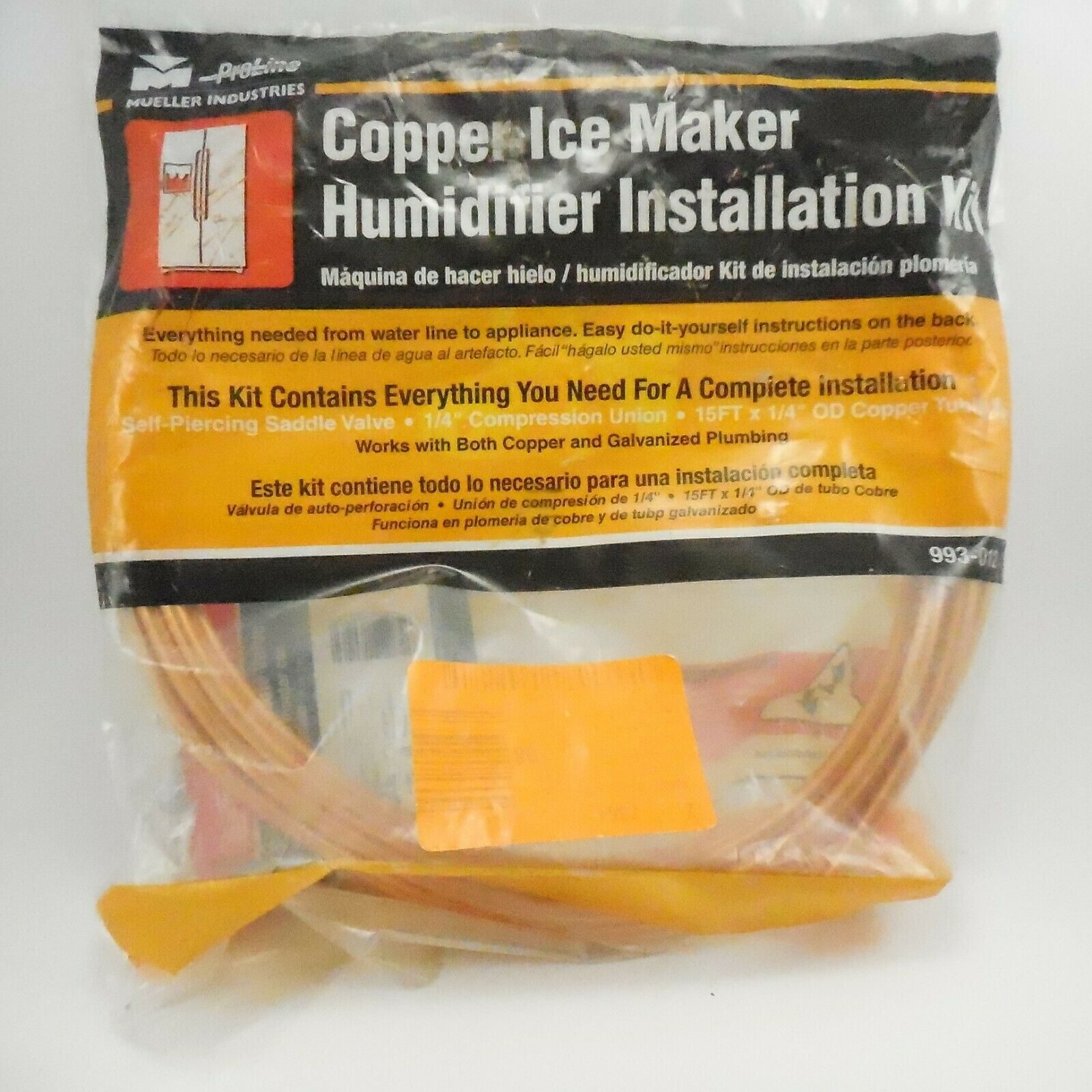 Humidifier Installation Kit Copper Ice Maker