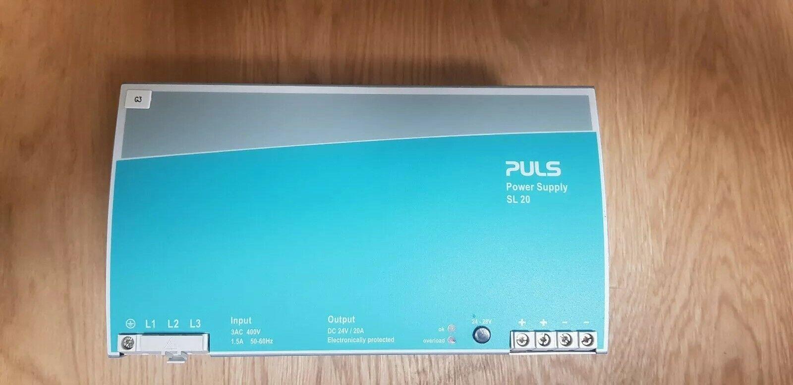Puls Power Supply Sl 20.300