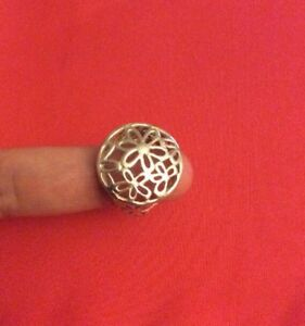 925-Genuine-Sterling-SILVER-FILIGREE-RING-SIZE-7