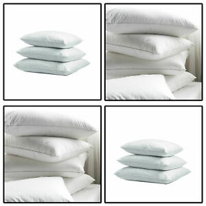 PACK OF FOUR LUXURY 100/% SQUARE DUCK FEATHER CUSHION PADS FILLERS INSERTS INNERS